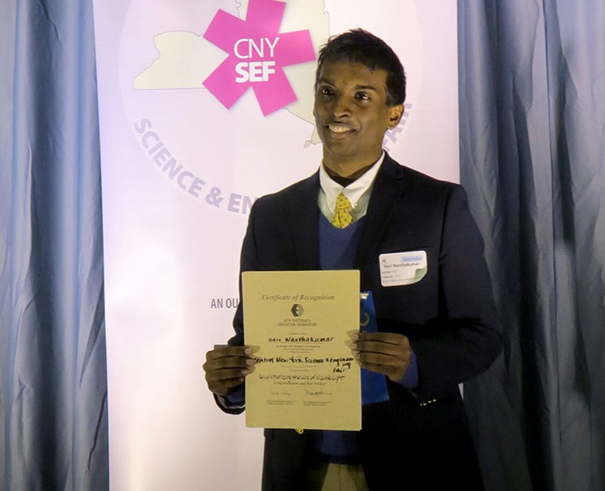 CBA student named finalist at Intel Competition