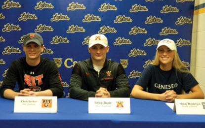CHS student-athletes sign letters of intent for college