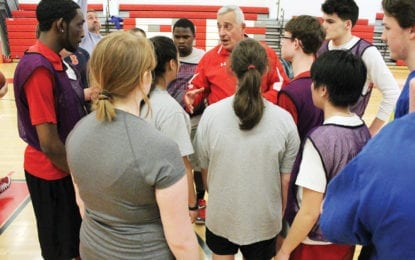 Having a ball: Baker unified basketball team begins practices
