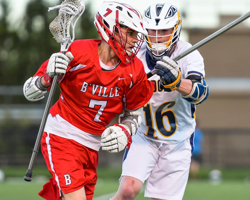 Boys lax Bees split pair of league battles