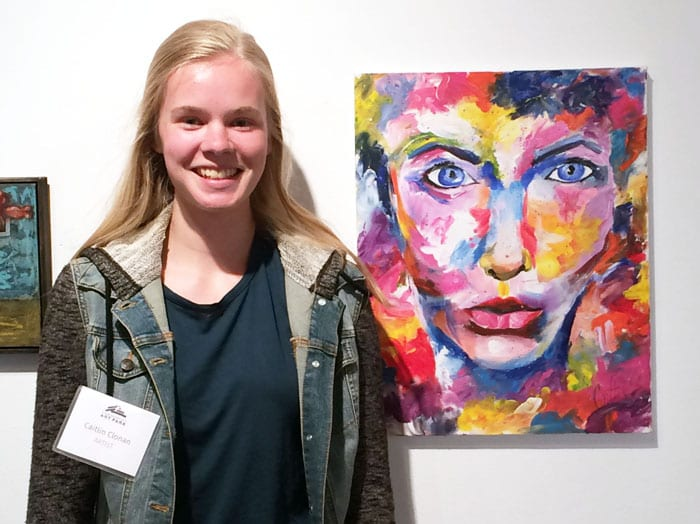 Art Park Gallery show displays work from 23 emerging artists
