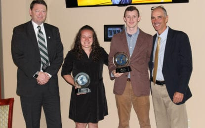 Evans named Morrisville State male Athlete of the Year