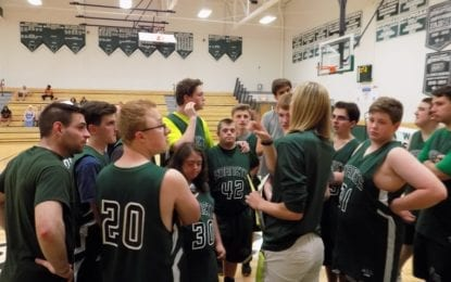 F-M Unified Basketball Team celebrates Senior Night