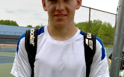 Romig advances to state tennis tournament