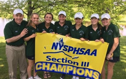 F-M girls repeat as sectional golf champions