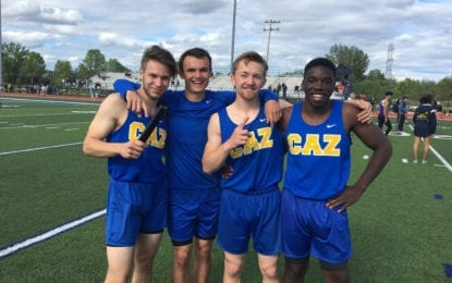 Track Lakers advance to state meet in 4×100