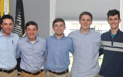 Eight from Caz to attend Boys' State