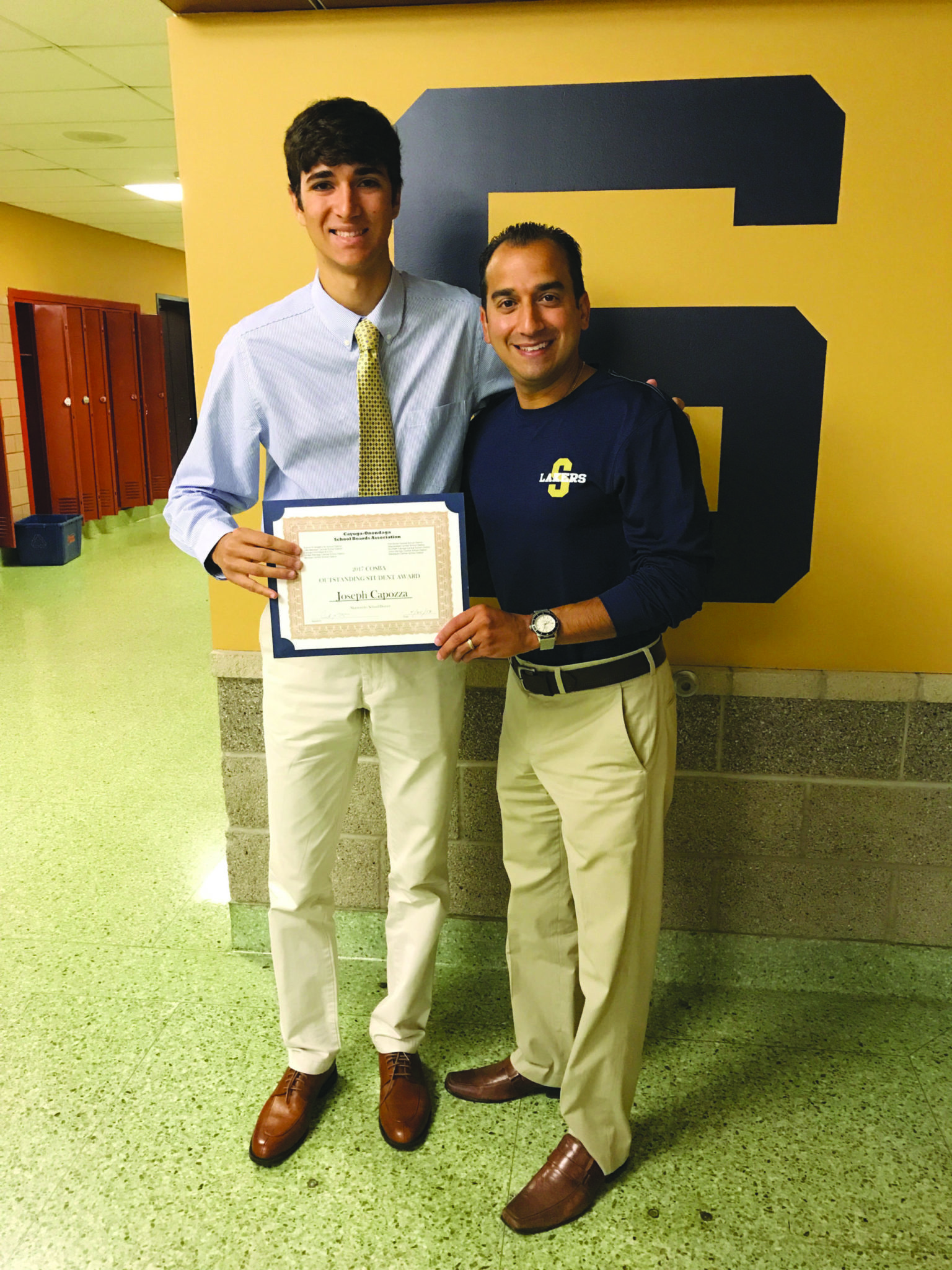 Capozza wins award