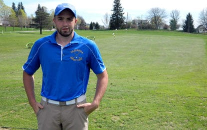 Lakers' Thorp plays in state golf tournament
