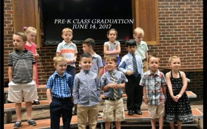IC preschool class celebrates graduation