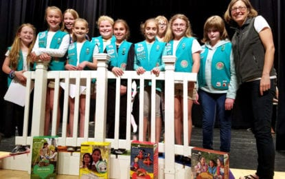 F-M area Girl Scouts celebrate Bridging and Awards Ceremony