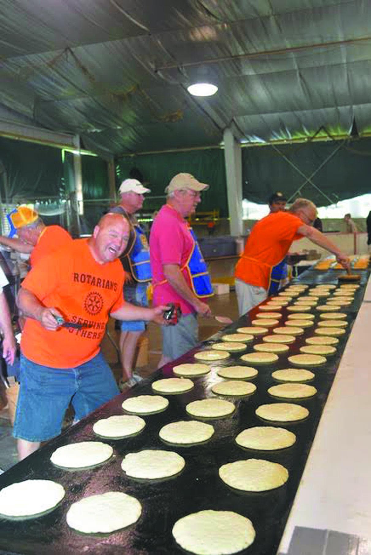 Rotary Father's Day pancake breakfast Sunday