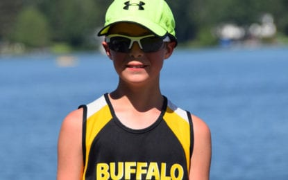 10-year-old sets world record at Caz July 4 Foot Race
