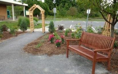 Manlius Library opens new pollinator garden