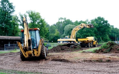 BALLFIELD MAKEOVER: American Legion north field to be totally revamped