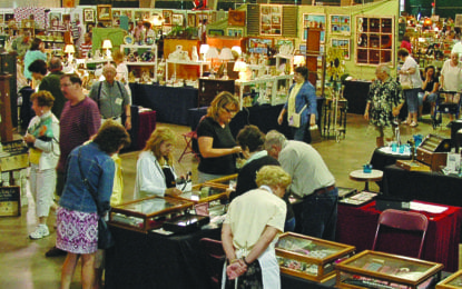 Antique show this weekend