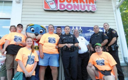 Caz cops to raise funds, awareness for Special Olympics this Friday at Dunkin Donuts