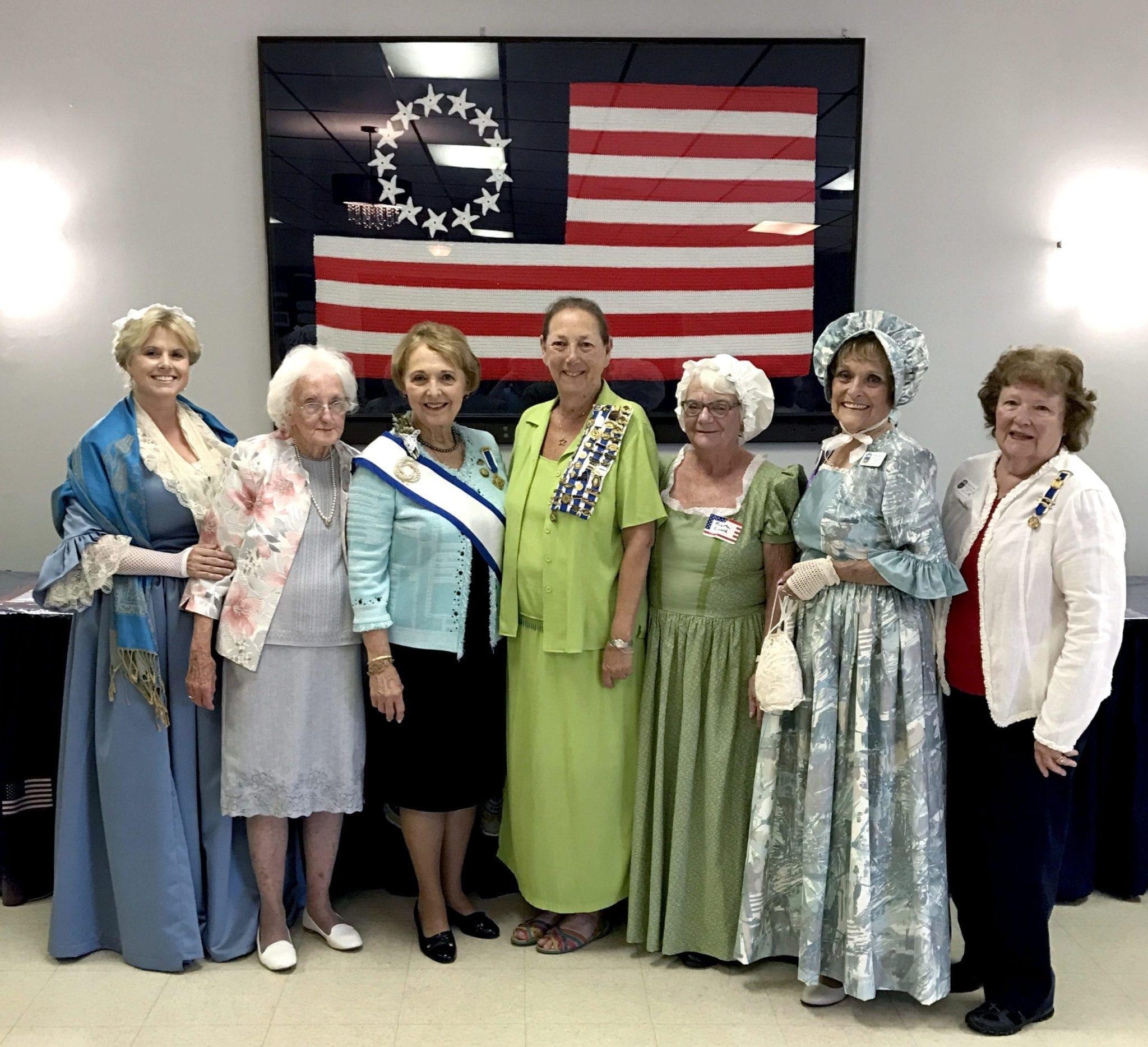 Local DAR members commemorate Battle of Oriskany