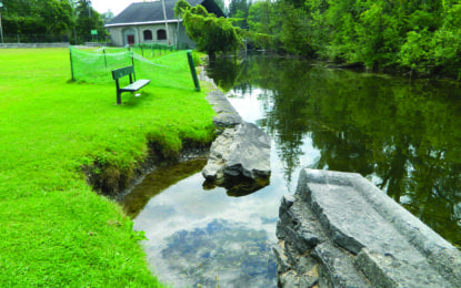 Ready to launch and rebuild; Bid approved to build Lakeland Park kayak hand launch, fix canal wall