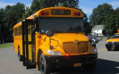 Back to school: B'ville buses add new warning lights