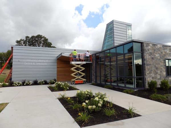 New library on Jamesville Road set to open Aug. 21