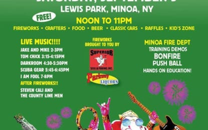 Minoa Festival in the Park coming Sept. 9