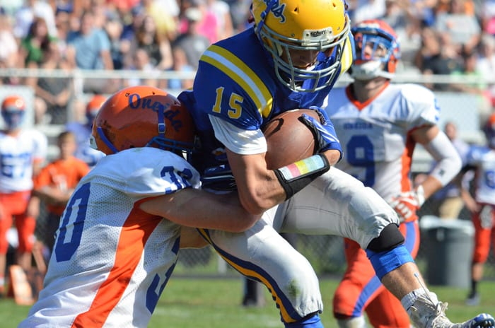 Lakers roll to Homecoming win over Oneida