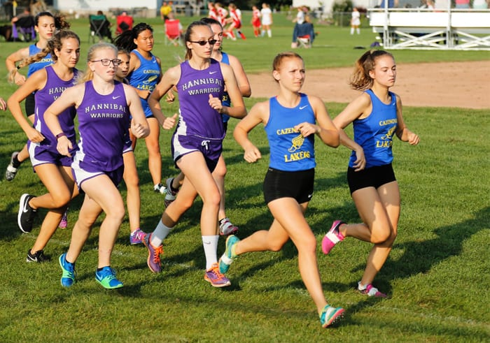 Cross country girls race to success in three meets