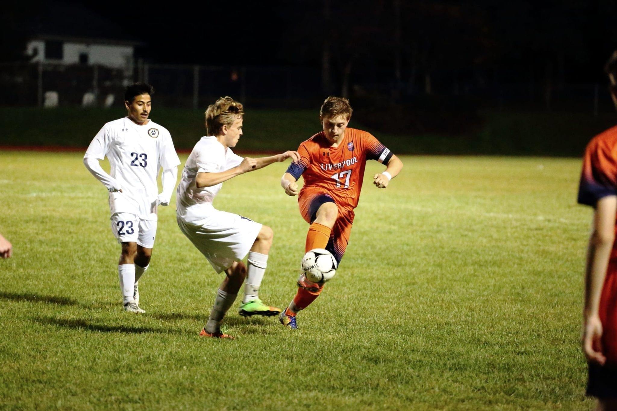 Boys soccer Warriors edge C-NS in overtime