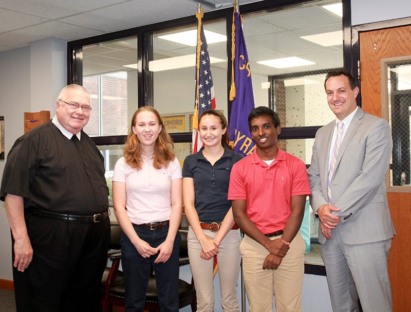 CBA students named semifinalists in National Merit Scholarship Program
