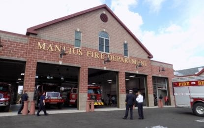 Manlius FD celebrates fire station opening