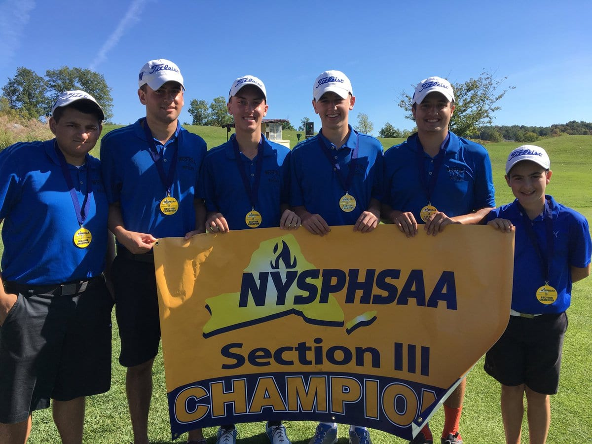 Warriors sweep to sectional golf championship
